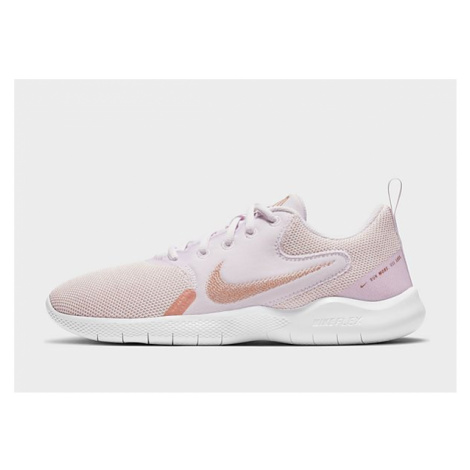 Nike Flex Experience Run 10 Damen - Champagne/Light Violet/White/Metallic Red Bronze - Damen, Ch