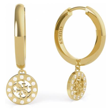 Guess JUBE79043JW Ohrringe für Damen Charms & Crystals Goldfarben