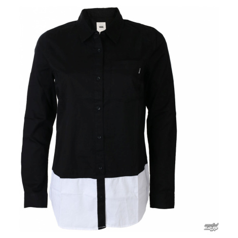 Damen Hemd VANS - SKATE STACK - Schwarz - VA3ANJBLK L