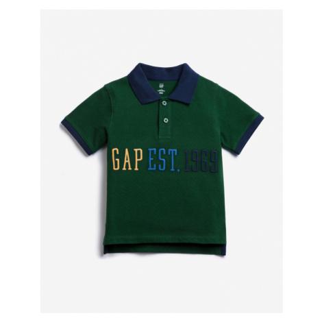 GAP Polo T- Shirt Kinder Grün