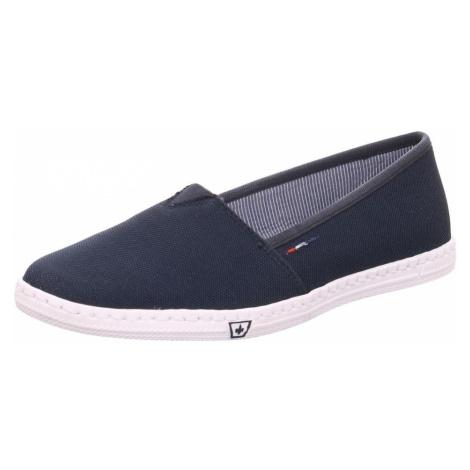 Blaue slipper für damen