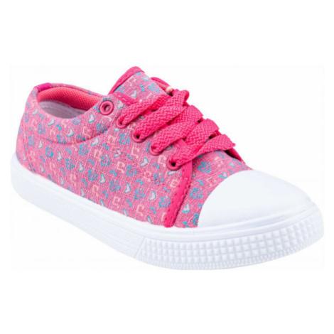 ALPINE PRO ARRAE rosa - Kinder Sneaker