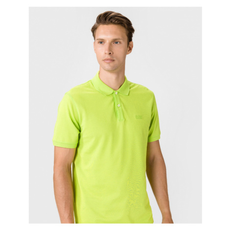 BOSS Pallas Polo T-Shirt Grün Hugo Boss