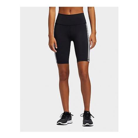 Adidas Believe These 2.0 3-Streifen kurze Tight - Black / White - Damen, Black / White