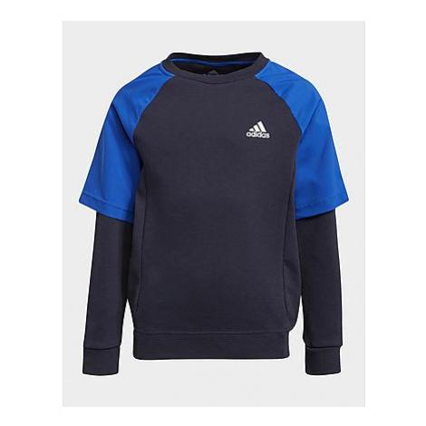 Adidas XFG Comfort Sweatshirt, Legend Ink / Bold Blue / White
