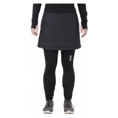 Swix MENALI schwarz - Kurzer Sportrock