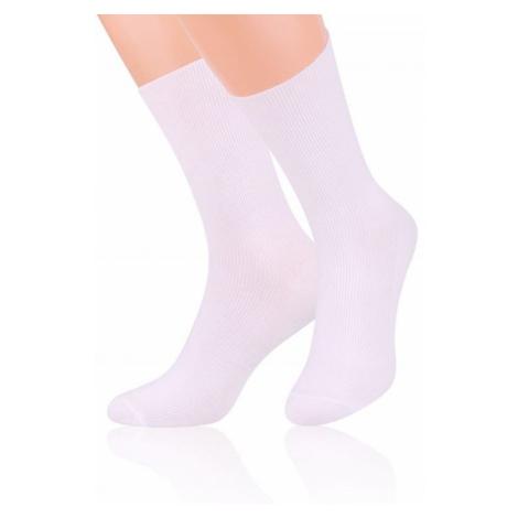 Damen Kniestrümpfe & Socken 018 white Steven