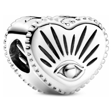 Pandora 799179C00 Silber Charm Herz Allsehendes Auge