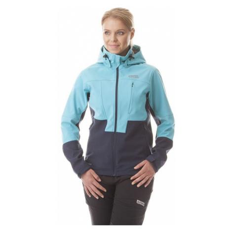 Damen Softshell Jacke Nordblanc NBWSL5857 blue