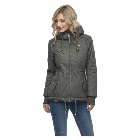 Ragwear Jacke Damen DANKA 2021-60015 Grün Olive 5031