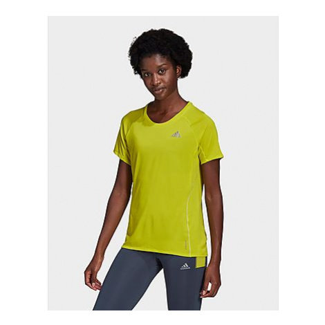 Adidas Runner T-Shirt - Acid Yellow - Damen, Acid Yellow