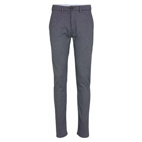 TOM TAILOR Herren Strukturierte Jersey Slim Hose, blau