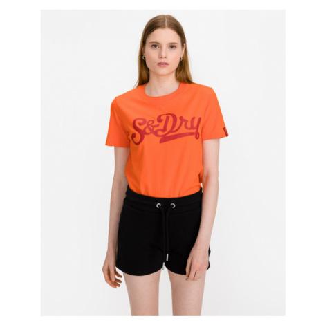 SuperDry Collegiate Cali State T-Shirt Orange