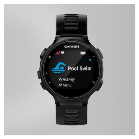 Garmin Forerunner 735Xt GPS-Multisportuhr, Schwarz/Grau