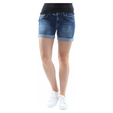 LTB Shorts Damen BECKY X Dunkelblau Ikeda Wash