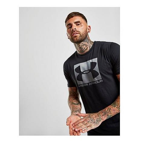 Under Armour Boxed Sportstyle T-Shirt Herren - Black/Silver - Herren, Black/Silver