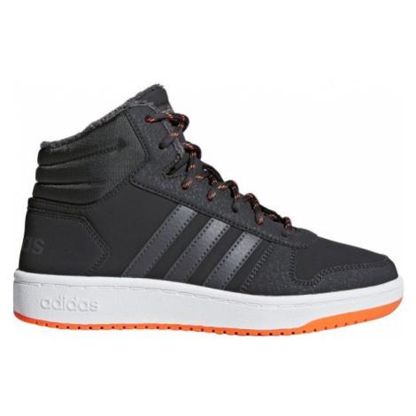 adidas HOOPS MID 2.0 K grau - Kinder Sneaker