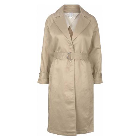 TOM TAILOR MINE TO FIVE Damen Trenchcoat mit Seitenschlitzen, beige