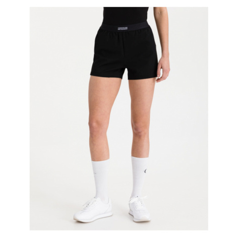 Calvin Klein Milano Drapey Shorts Schwarz