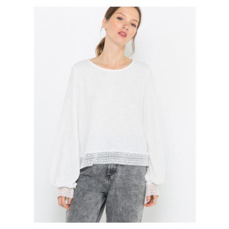 CAMAIEU T-Shirt Weiß