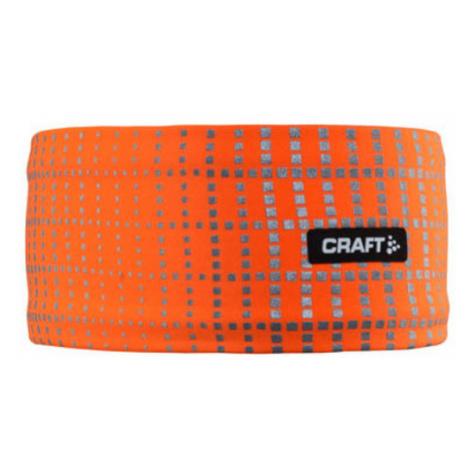 Stirnband CRAFT Brilliant 2.0 1904303-2576 - Orange
