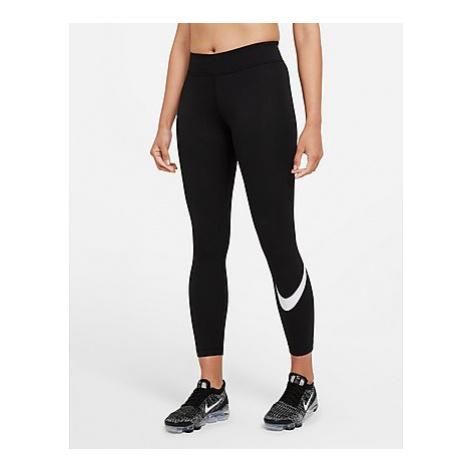 Nike Nike Sportswear Essential Damen-Leggings mit mittelhohem Bündchen und Swoosh - Black/White