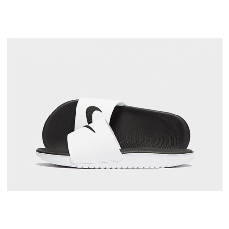 Nike Kawa Badelatschen Kleinkinder - White/Black - Kinder, White/Black
