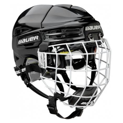 Bauer RE-AKT 100 YTH COMBO schwarz - Eishockey Helm für Kinder mit Gitter