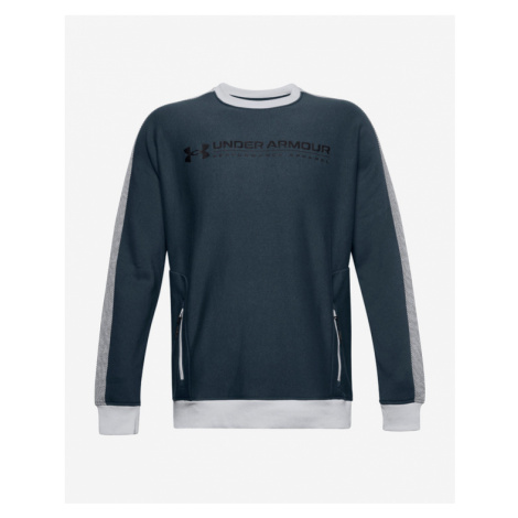 Under Armour Rival Fleece AMP Crew Sweatshirt Blau