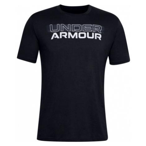 Under Armour BLURRY LOGO WORDMARK SS - Herrenshirt