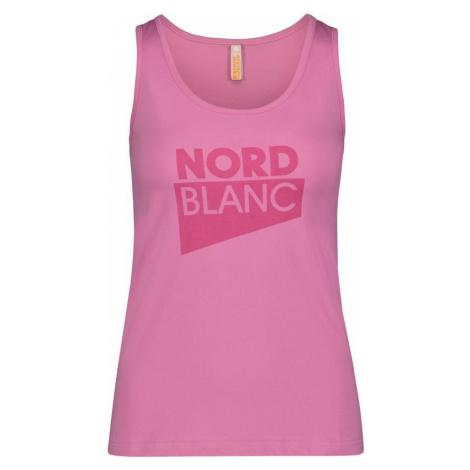 Damen baumwolle Tank Top/Shirt NORDBLANC Incision NBSLT6734_SRZ