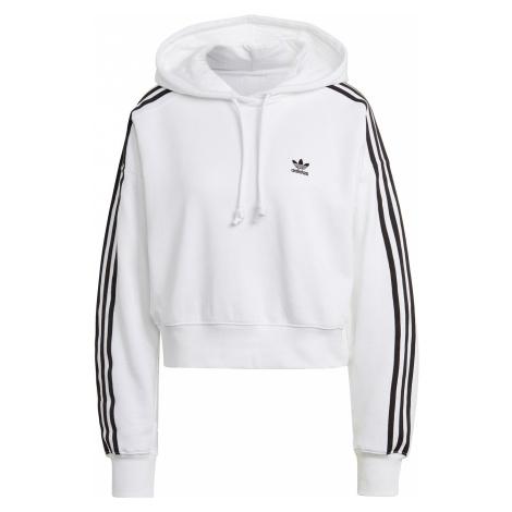 Adidas Originals Sweater Damen SHORT HOODIE GN2891 Weiß