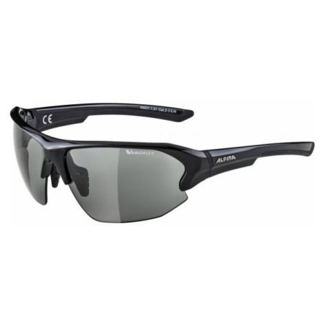 Alpina Sports LYRON HR VL schwarz - Modische Sonnenbrille