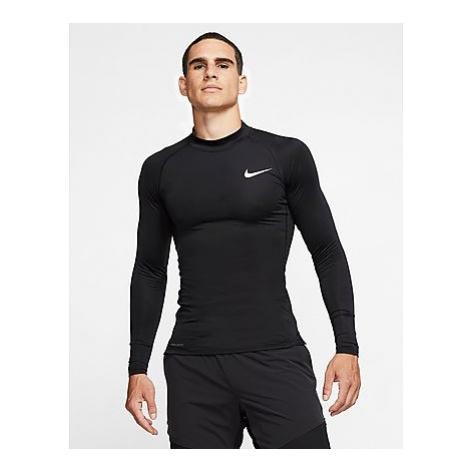 Nike Nike Pro Herren-Langarmoberteil - Black/White - Herren, Black/White