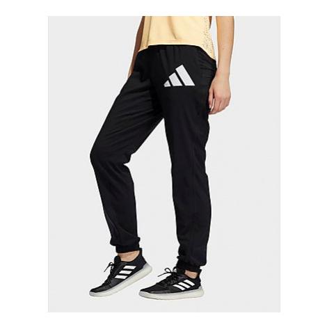 Adidas 3 Bar Logo Warm-Up Sports Hose - Black / White - Damen, Black / White