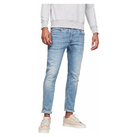 G-Star Herren Jeans D-Staq 5-Pocket - Slim Fit - Blau - Light Indigo Aged G-Star Raw