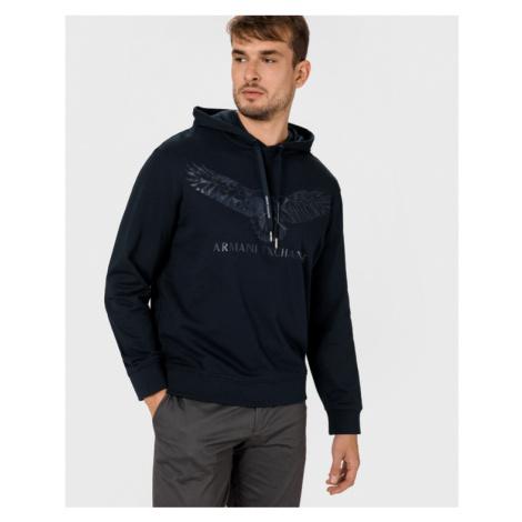 Armani Exchange Sweatshirt Blau