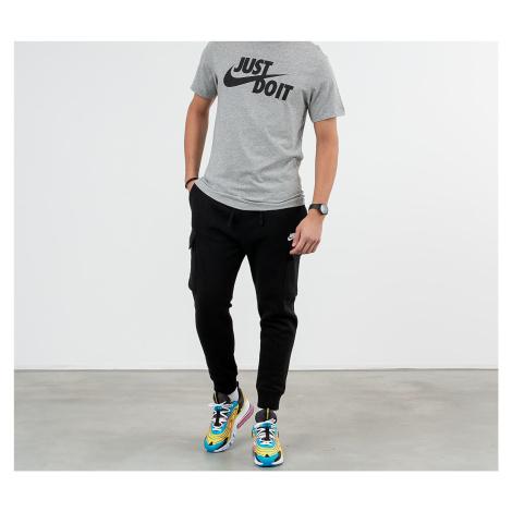 Nike Sportswear Just Do It Swoosh Tee Dark Grey Heather/ Black