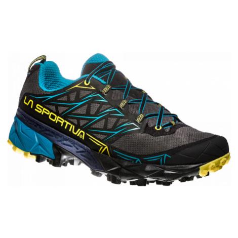 Schuhe La Sportiva Akyra Carbon / Tropic blue