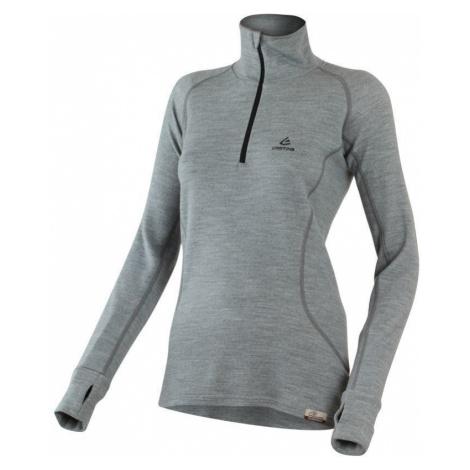 Merino Sweatshirt Lasting EMILY 8489 grey