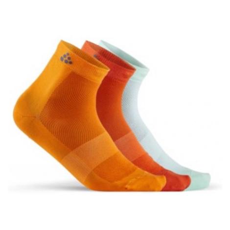 Socken CRAFT Mid 3-pack 1906060-561007 Orange