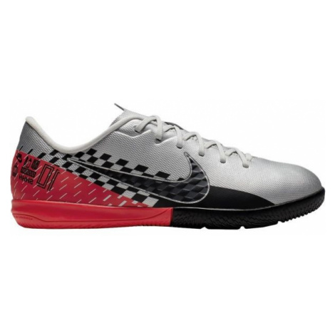 Nike JR MERCURIAL VAPOR 13 ACADEMY NEYMAR JR IC grau - Hallenschuhe für Kinder
