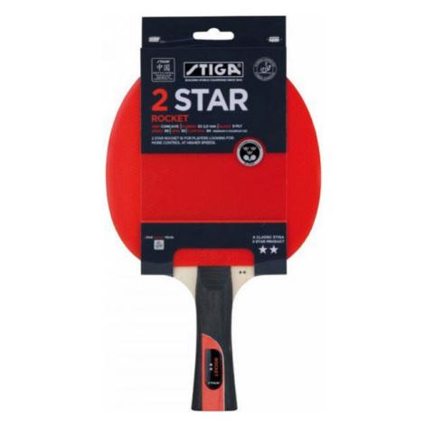 Stiga 2 STAR ROCKET rot - Tischtennisschläger