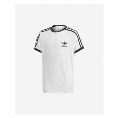 adidas Originals 3-Stripes Kinder  T‑Shirt Weiß