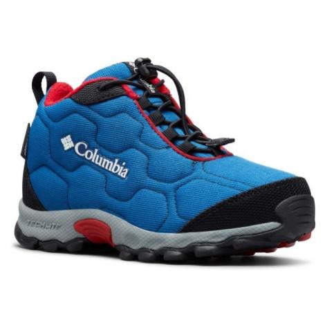 Columbia YOUTH FIRECAMP MID 2 WP blau - Kinder Wanderschuhe