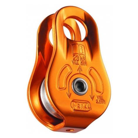 Flaschenzug Petzl fixe P05W Orange