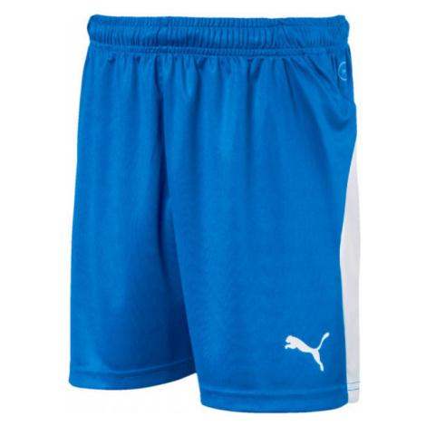 Puma LIGA SHORTS JR blau - Shorts für Jungs