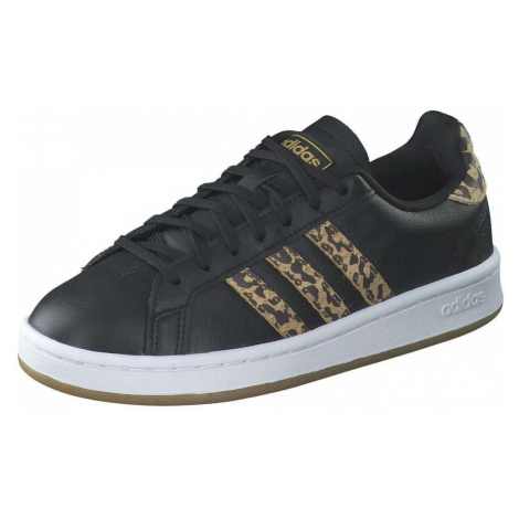 Adidas Grand Court Sneaker Damen schwarz
