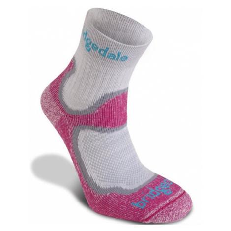 Socken Bridgedale Trailsport Lightweight T2 Merino Cool Comfort Crew Women's staubig pink/303