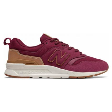 New Balance CM997HAE rot - Herren Sneaker